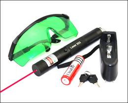 $enCountryForm.capitalKeyWord Canada - SDLasers RS5-0200 Adjustable Focus 650nm Red Laser Pointer With 1*18650 Li Battery & Charger & Goggles & 2*Safety Key and 1*Star Cap