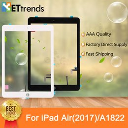 3m ipad screen NZ - Touch Glass Screen Assembly with Original Repair Parts for iPad Air 2017 A1822 With Home Button & 3M Adhesive DHL Free Shipping