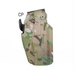 Arma rifle tático coldre acessória cintura cinto coldre para G lock 17 20 21 22 37 para caça tiro em Promoção