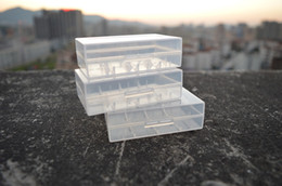 20700 21700 Portable Plastic Case Box Safety Holder Storage Container Clear Pack Batteries for Lithium ion Battery Charger Mech Mod Wrap DHL & Shop Lithium Battery Storage Container UK | Lithium Battery Storage ...