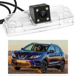 Novo 4 LED Câmera de Visão Traseira Do Carro de Backup Reversa CCD apto para Nissan Qashqai 2014-2016 2015 venda por atacado