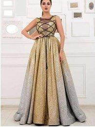 $enCountryForm.capitalKeyWord UK - Evening dress Long Dress Sleeveless Beaded Sequined Scoop Ball Gown In 2018 the new clothes popular