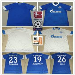 e60cadb08 Discount schalke soccer jersey - 2018 2019 FC Schalke 04 Soccer Jersey 19  BURGSTALLER 7 UTH