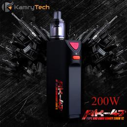 vaporizer for smoking mod 2019 - Electronic Cigarette Vape Box Mod E Hookah Vaporizer Kamry 1-200W TC Mod E-Cigarette for Big Smoke  RDA Tank X1037 disco