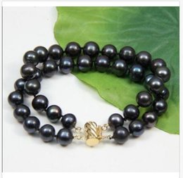 Pearl Channel Australia - The only 9-10mm round south sea pearl bracelet 14k gold clasp 7.5-8 inch