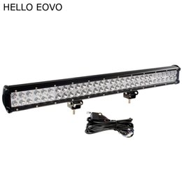 Chinese  HELLO EOVO 28 Inch 180W LED Work Light Bar + Wiring Kit for Off Road Work Driving Offroad Boat Car Truck 4x4 SUV ATV Combo manufacturers