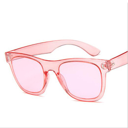 Fancy Sunglasses UK - Colorful Fashion Wear Sunglasses Black Pink White Blue Green Yellow Color Cheap Fancy Ladies Glasses Free Shipping