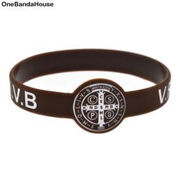 Wrist Watches Logos Australia - 50PCS Lot Jesus Silicone Wristband CSPB CSSML NDSMD Silicone Bracelet Ink Filled Logo Watch Wrist Type Bangle