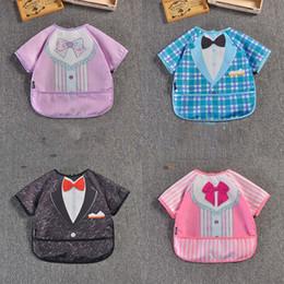 Waterproof camouflage clothing online shopping - 14Designs Baby Kids Snap Bids Anti Clothing Cute Animal Waterproof Infants Bids T Children Feeding Bids Clothes