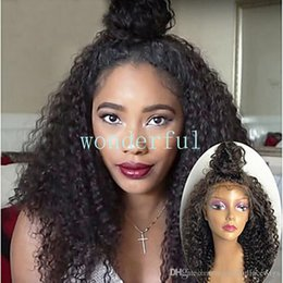 $enCountryForm.capitalKeyWord Australia - Black Synthetic Lace Front Wig Curly Layered Haircut 180% Density Synthetic Hair Heat Resistant   Natural Hairline Nature Black Women's