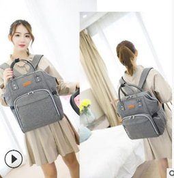 Wholesale Mommy Backpacks Nappies Bags Mother Maternity Diaper Backpack Large Volume Outdoor Travel Bags Organizer