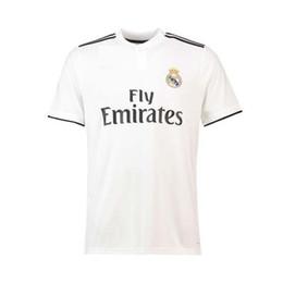 78afcb09e44 2018 19 TOP Thai Quality Toni Kroos Customized name Soccer Jerseys real  madrid Football Jerseys 9 BENZEMA 11 BALE 7 RONALDO Football jerseys