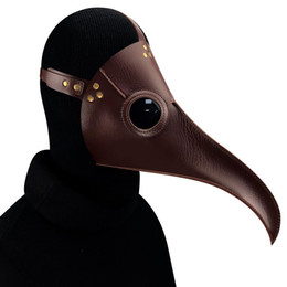 doctor cosplay Australia - Halloween Plague Long Birds Doctor Prom Mask Cosplay Mask Steam Punk Mask
