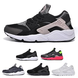 running trainers shoes air UK - 2018 New Air Huarache I Running Shoes For Men Women,Green White Black Rose Gold Sneakers Triple Huaraches 1 Trainers huraches Sports Shoes