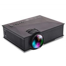 laptop tv wifi 2018 - UC46 UC46+ 1200 Lumens LED Mini Projector Portable WiFi LCD Projector Home Cinema Theater Support 1080P for TV Laptop iP