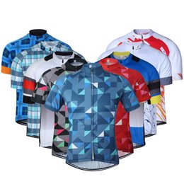 Soft men ShortS online shopping - Outdoor Summer Bicycle Clothing Riding Clothes Perspiration Soft Short Sleeve Non Slip Fashion Quick Dry Jacket Colorful ss jj