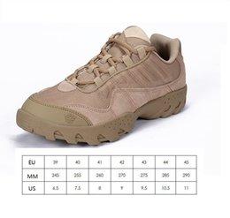 ESDY Tactical Boots Desert Combat Outdoor Chaussures Tactiques Noir Kaki Randonnée Chaussures de Voyage En Cuir Bateaux Cheville Bottes Unisexe mk0345 en Solde