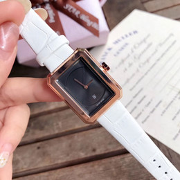 Wholesale Famous brand women wristwatches luxury watch leather strap automatic date quartz Female watches for ladies gift clock relogios masculinos