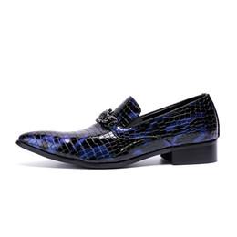 $enCountryForm.capitalKeyWord Australia - British style oxford alligator shoes for men patent genuine leather pointed toe wedding dress designer shoes sapatos masculinos