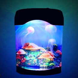 aquarium christmas decorations australia 9 led synthetic jellyfish colorful night light aquarium christmas new