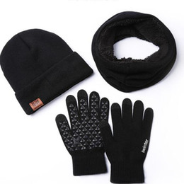 $enCountryForm.capitalKeyWord Australia - autumn and winter hat, scarf gloves knitted three-piece suit wool and wool for men and women to keep warm