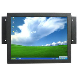 touch screen industrial Canada - 10.4 Inch Input VGA HDMI VEDIO SKD Open Frame Metal Cover Industrial PC Monitor with Touch Screen , Car PC POS Display