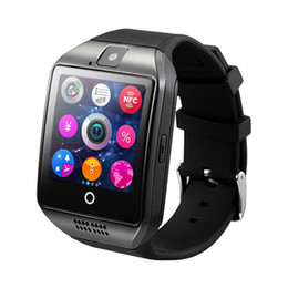 $enCountryForm.capitalKeyWord Australia - Bluetooth Smart Watch Q18 Intelligent Clock For Android Phone With Pedometer Camera SIM Card Whatsapp Call Message Display pk A1