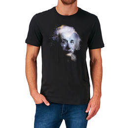 ALBERT EINSTEIN T SHIRT GALAXY SPACE SCIENCE NERD GEEK BIRTHDAY PRESENT GIFT Funny Free Shipping Unisex Casual Tshirt Top