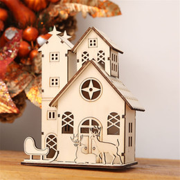 $enCountryForm.capitalKeyWord NZ - LED lights Christmas decoration shopping mall supermarket window display products set props angels , cabins cute family holiday decoration