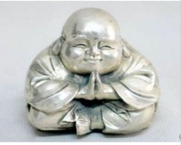 $enCountryForm.capitalKeyWord Australia - Chinese tibet silver carved happy buddha figurine