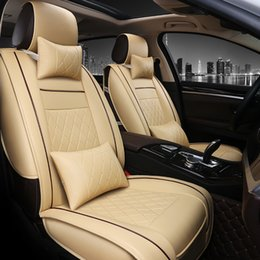 accessories for rav4 2019 - Special Luxury PU Leather car seat covers For Toyota Corolla Camry Rav4 Auris Prius Yalis Avensis SUV auto accessories s