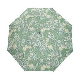 $enCountryForm.capitalKeyWord UK - William Morris Prints Women Umbrella UV Resistant Wind Sun and Rain Foldable Auto Open Close Strong Durable Compact Umbrella