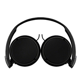 Computer kids online shopping - ZX110 Wired Headphone Headset Foldable Baby Wired Phone boy girl kid headset with retail package