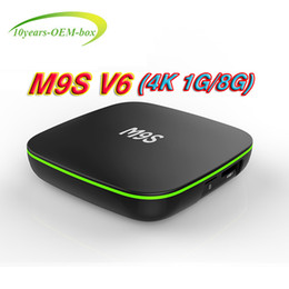 Media Player Australia - Factory Sale M9S V6 4K New MXQ Pro 4K Smart Android 7.1 TV Box Rockchip RK3229 Quad Core Google Set Top Box Media Player 3D 4K