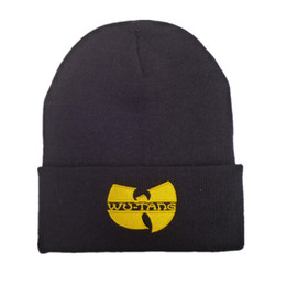 Chinese  Men Women Wutang Winter Warm Beanie Hat Musice Skullies Knitted Soft Wu Tang WU-TANG CLAN HipHop Music Team Hats Caps manufacturers