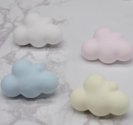 cloud cars 2019 - Cloud Shape Vehicle Air Humidifier Car Essential Oils Diffusers vent clips Purfume Four Colors to Choose cheap cloud car