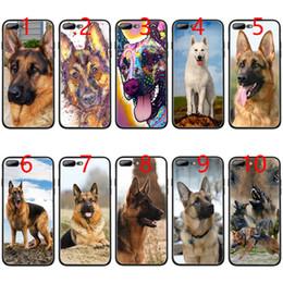 Iphone 6s Plus 5.5 Australia - german shepherd dog Soft Black TPU Phone Case for iPhone XS Max XR 6 6s 7 8 Plus 5 5s SE Cover
