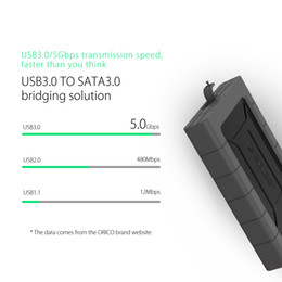 $enCountryForm.capitalKeyWord Australia - ORICO Black 2TB HDD 2.5 inch USB3.0 Three-proofing Hard Drive Tool Free External Enclosure High-Speed Case for SSD HDD SATA III