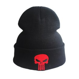 $enCountryForm.capitalKeyWord NZ - Winter Tactical Knit Hat Nrand New Cotton SEALs Punisher American Sniper Army Outdoor Sport Beanies Knitted Hat For Men Women