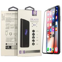 $enCountryForm.capitalKeyWord Australia - Full glue 9H Screen Protector Full Cover Tempered Glass Screen Protector Guard for iPhone 6 7 8 High quality