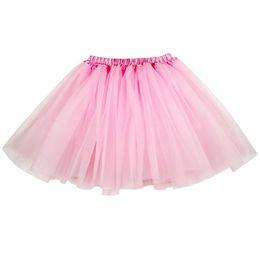 Chinese  Fashon Women 3 layers Organza Tulle Tutu Skirt Party Performance Girl tutu Petticoat manufacturers