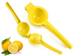 China Lemon squeezer Hand Press Manual Juicer Orange Lime Squeezer Aluminum alloy fresh juice tools cheap plastic orange squeezer suppliers