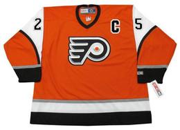 d58dee6e2 Personalized Custom 25 KEITH PRIMEAU Philadelphia Flyers 2003 CCM Vintage  Hockey Jersey