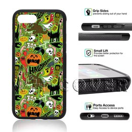 $enCountryForm.capitalKeyWord Australia - Happy Halloween Gift Pumpkin Skull Skeleton EGG3 Jack Skellingt Horror All Saints Day For iPhone Samsung iX I9 S8 S9 Note8 Note9 Plus