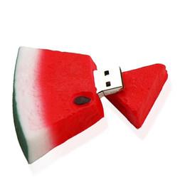 16gb Flash Disk Drive Australia - 10 Piece 16GB 32GB PVC USB3.0 No logo Fruit USB Key Watermelon USB Drives Fruit Capacity Enough U Disk USB Flash Drive USB3.0 New Key