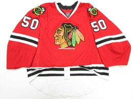 crawford jerseys UK - Cheap wholesale Custom CRAWFORD CHICAGO BLACKHAWKS EDGE JERSEY GOALIE CUT 60 Mens Stitched Personalized hockey Jerseys