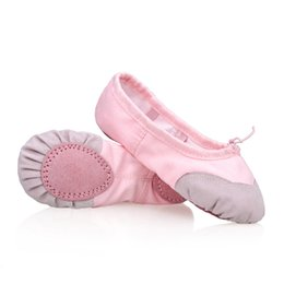 China High Quality Children Soft Sole Ballet Dance Shoes Girls Kids Dance Practice Shoes supplier practice shoes suppliers