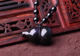 Rainbow obsidian necklace australia new featured rainbow necklace natural rainbow obsidian eyes gourd pendant pendant with men and women to protect peace aloadofball Gallery