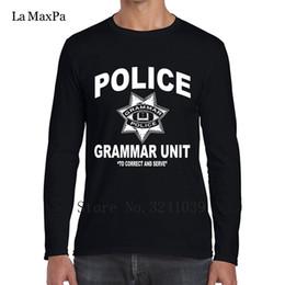 Caractère Casual Grammaire Police Tee Shirt Hommes Meilleur Printemps T-Shirt Pour Hommes Vêtements Coton T Shirt Homme Haute Qualité en Solde