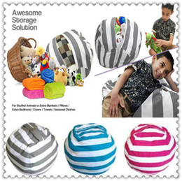 Mat toys online shopping - 43 Colors Storage Bean Bags Kids Plush Toy Beanbag Chair Bedroom Stuffed Animal Room Mats Portable Clothes Storage Bag CCA8812